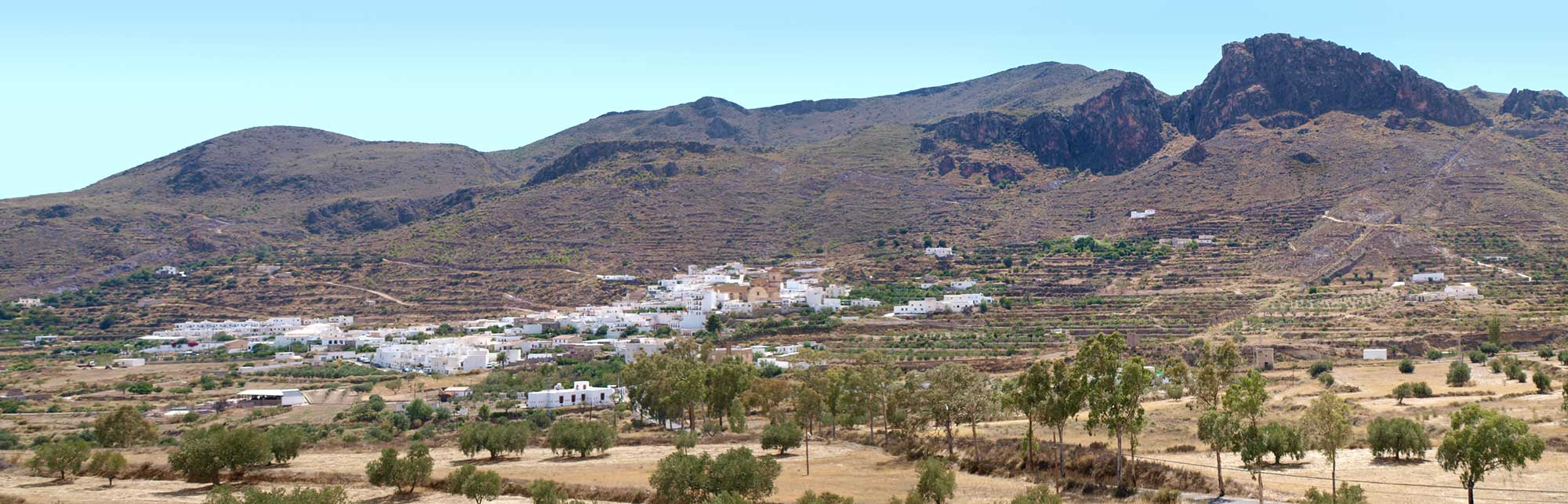 Vista general de Lucainena de las Torres